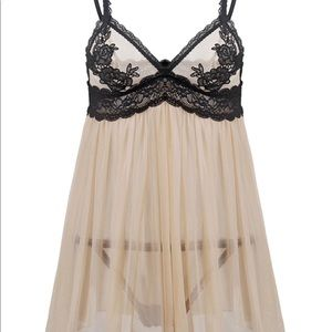 Other - See Thru Lace Trim Plus Size Babydoll 5X (US:22)